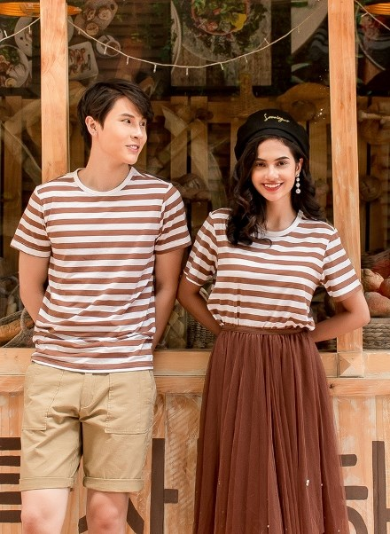 Áo Thun Nam KiriMaru Basic Striped